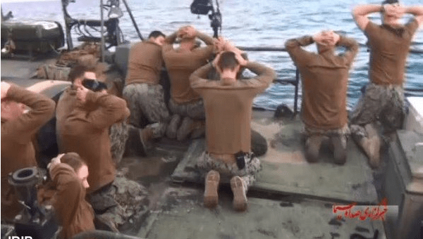 sailors iran waters