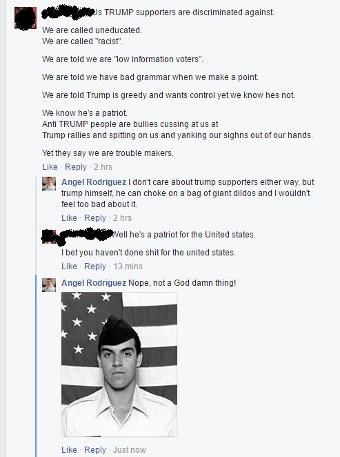 fb trump hater