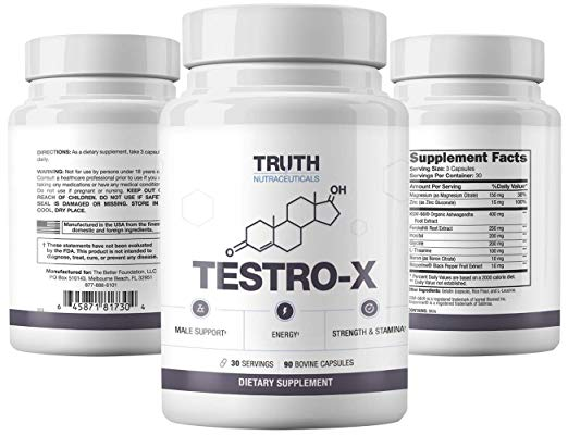 TruthNutra Testro-X and Redwood Review