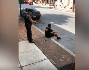 tased-while-following-orders