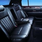 Inside Luxury Sedan