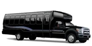 36 PASSENGER MID-SIZE COACH BUS