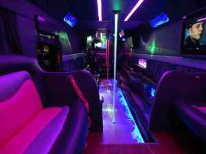 LIMO/LOUNGE BUS Rental in NY & NJ
