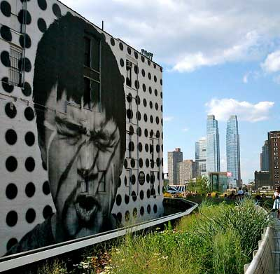 High Line face NY