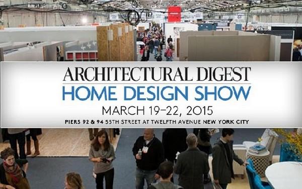 Architectural Digest Home Design Show 2015 New York Design Agenda