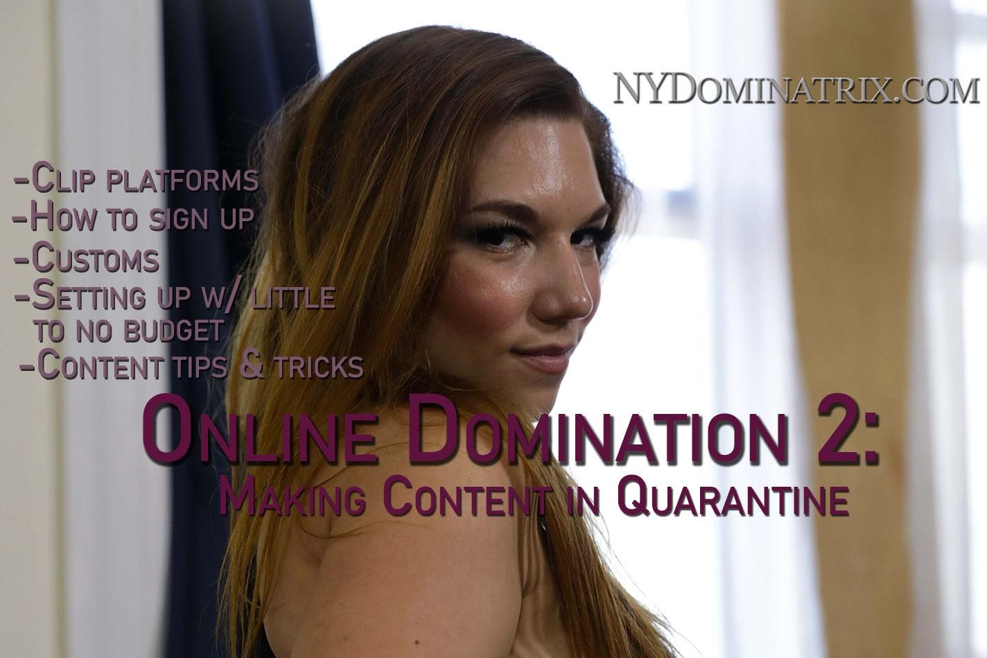 Online Classes - Online Domination 2 photo