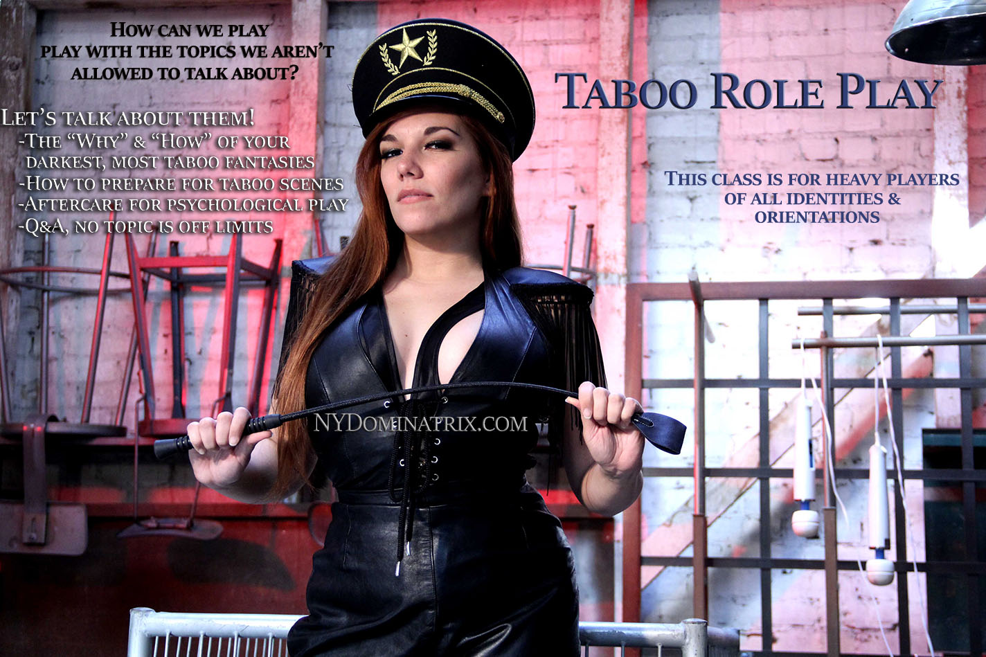 Online Classes - Taboo Role Play