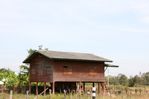 house in Phonthong, Laos