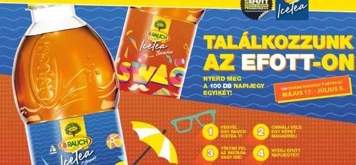 CBA Delikát: Rauch IceaTea nyereményjáték