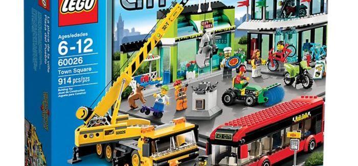 Zajlik a TESCO – Lego City nyereményjáték