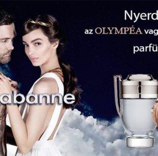 Nyerd meg Paco Rabanne két fantasztikus illatának egyikét!