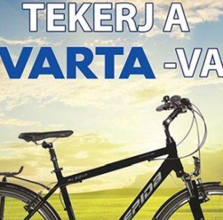 Varta nyereményjáték 2017 – nyerj kerékpárt: június 9-ig tart