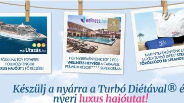 Turbó Diéta nyereményjáték - játssz és nyerd meg az izgalmas ajándékokat!