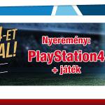 Nyerj PS4-et az AXE-szal! Játssz és nyerj! A játék június 20-ig tart.