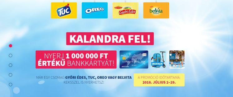 Kekszkaland - nyerj egy milliót bankkártyán: a játék július 29-ig tart