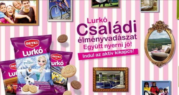 Detki keksz nyereményjáték - Lurkó családi élményvadászat: a játék október 31-ig tart