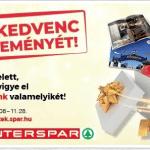 INTERSPAR, SPAR - Vigye el kedvenc álomnyereményét!