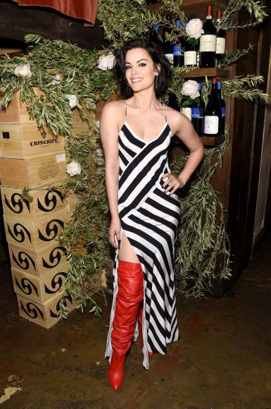 NEW YORK, NY - MAY 16:  Jaimie Alexander attends ELLE x Stuart Weitzman celebration of Giovanni Morelli's debut collection for Stuart Weitzman hosted by Nina Garcia on May 16, 2018 in New York City.  (Photo by Jamie McCarthy/Getty Images for ELLE)