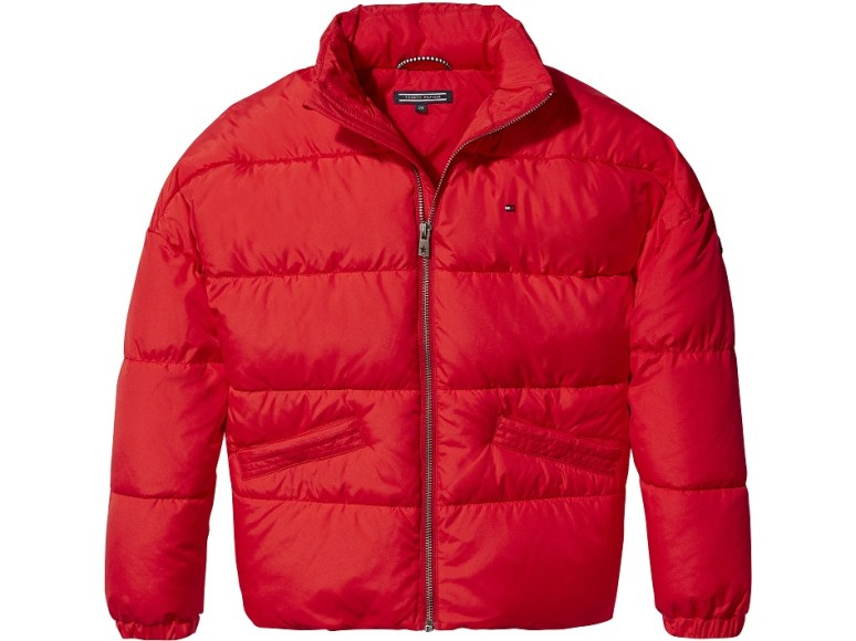 RED - ESSENTIAL PADDED JACKET