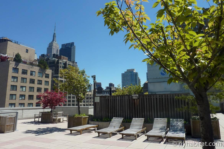 Toit Terrasse New York Unique 3br Triplex Avec Terrasse Privee Sur