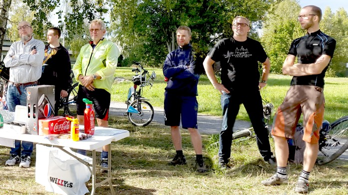 Stockholm Bike Open turingmachine tog hem segern I Baslägret 5