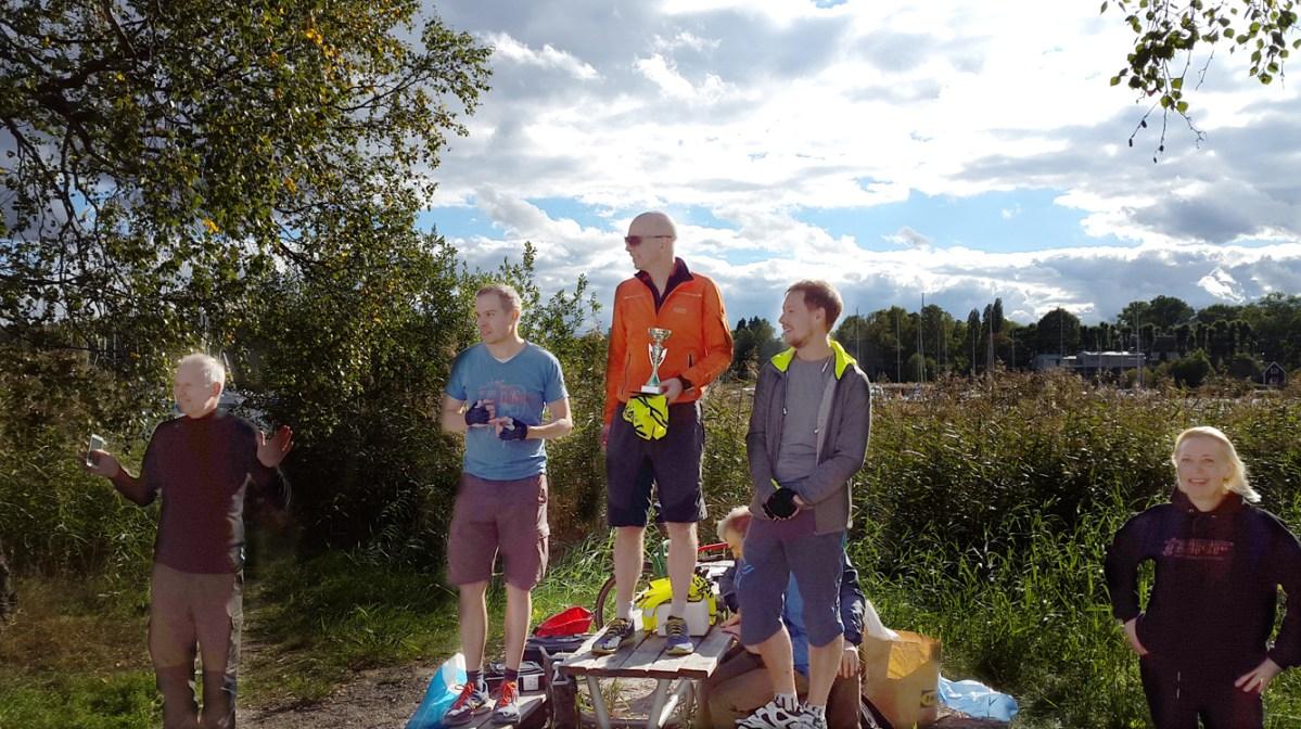 Stockholm Bike Open turingmachine tog hem segern På Prispallen 1