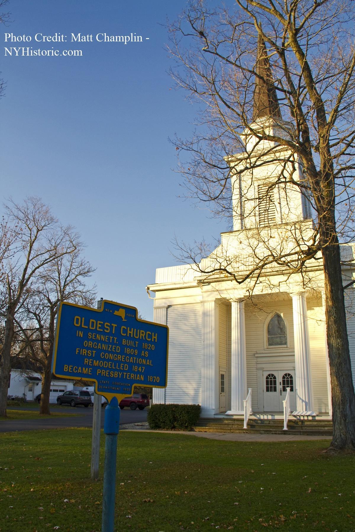 Oldest Church in Sennett