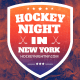 Hockey Night in New York