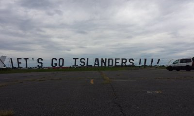 New York Islanders banner