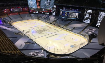 A look inside Scotiabank Arena in the Toronto Hub