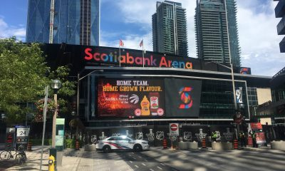 Scotiabank Arena media enterence