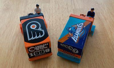 New York Islanders and Philadelphia Flyers