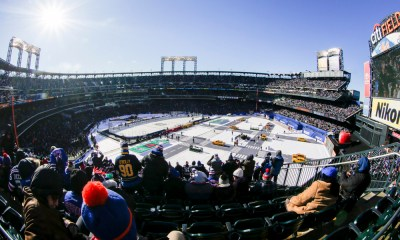 Should the New York Islanders play outdoors? NHL