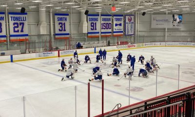 New York Islanders roster players practice