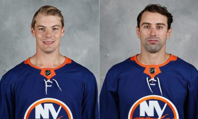 Scott Mayfield and Nick Leddy