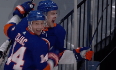 New York Islanders Ryan Pulock goal