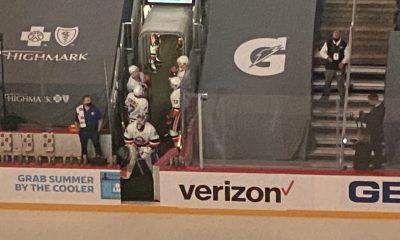 Ilya Sorokin prepares for New York Islanders warmups