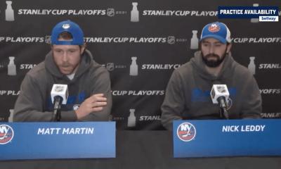 New York Islanders Matt Martin
