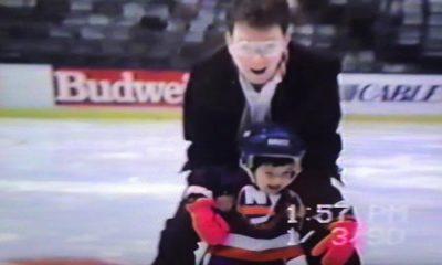 New York Islanders Terry Joe Skating