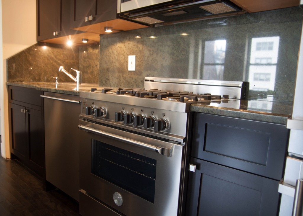 refacing kitchen cabinets cost dash dark stained shaker cabinets. upper west side new york ...