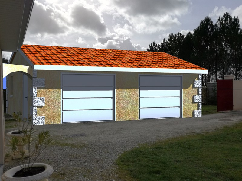 Plan pour construction garage