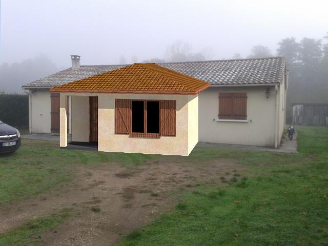 Permis de construire extension Gironde (St André de Cubzac)