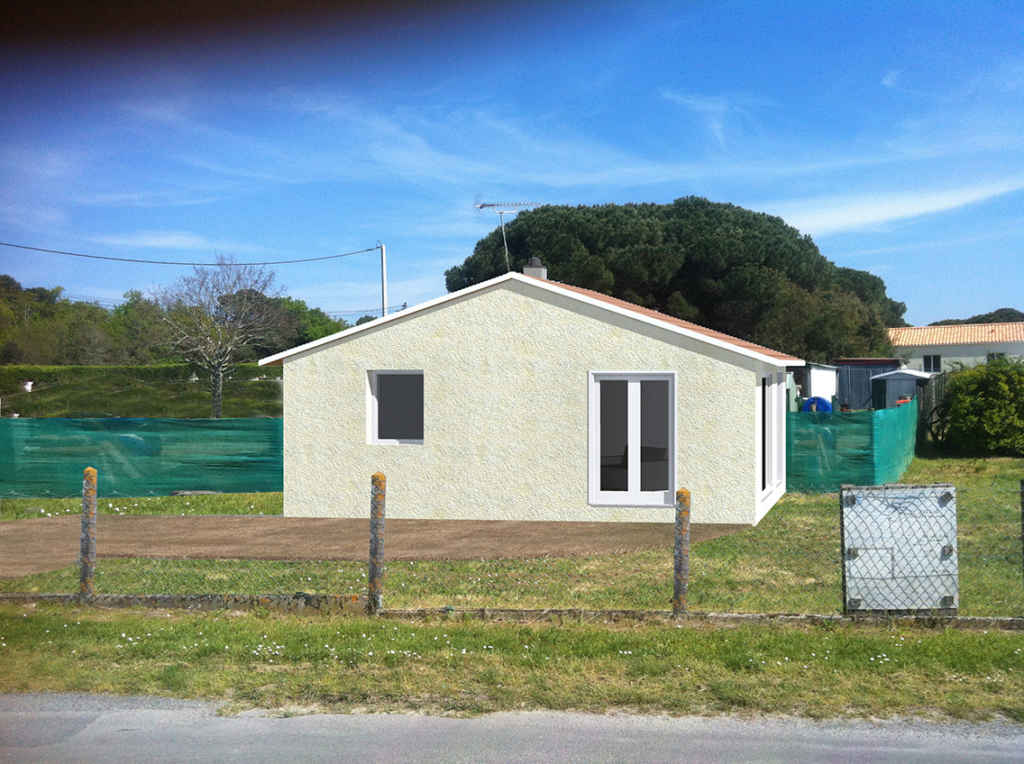 Permis de construire maison Mérignac