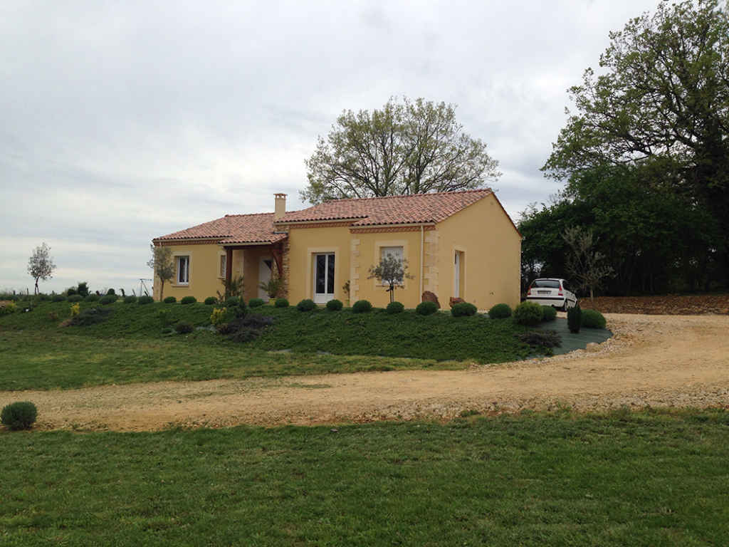 Avant projet d'extension à Gujan Mestras en Gironde