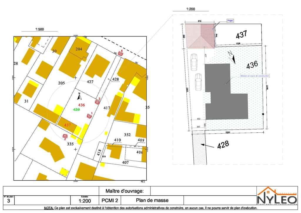 PCMI 2 Plan de masse