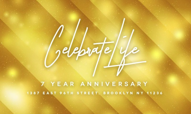 Celebrate Life: Year of Rest