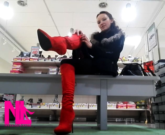 debboting-in-red-boots