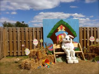 visit with the easter bunny