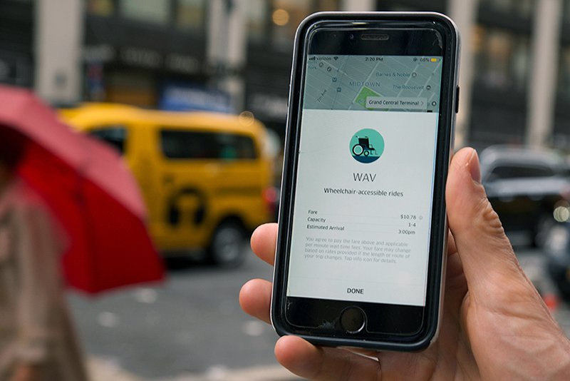 wheelchair hire york chair covers for legs nylpi report reveals uber and lyft fail to provide image of a cell phone being used hail an accessible vehicle