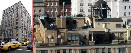 Aerial View Of The Madoff Penthouse